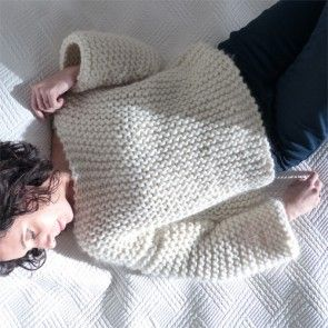 Kit tricot by WoolKiss : Kiss Me Big - Le pull facile à tricoter