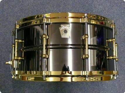 Ludwig Black Beauty Snare Drum at the National Music Museum