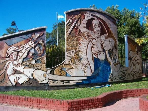 Mercedes, casa historica donde vivio el sargento Cabral. Corrientes, Argentina