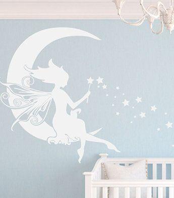 Moon Fairy Wall Decor