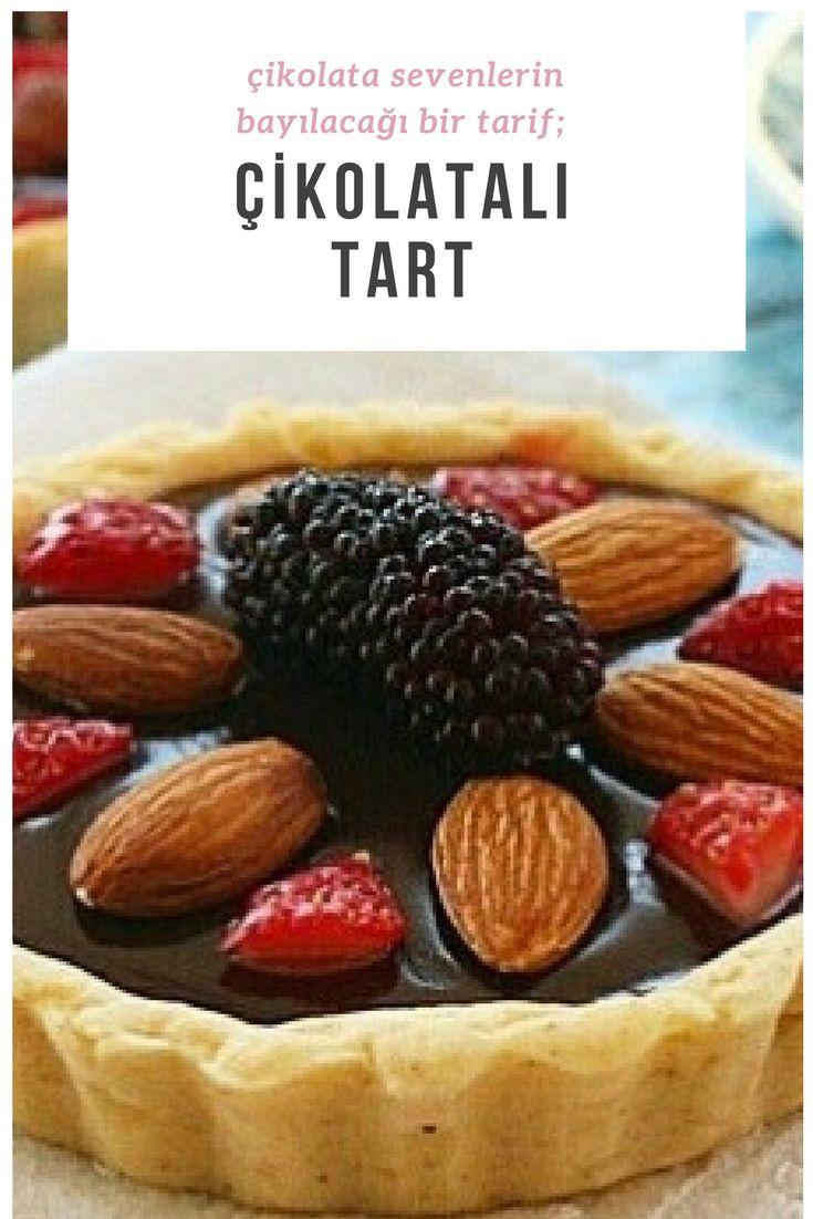 Çikolatalı Tart #çikolatalıtart #çikolatalıtarifler #tatlıtarifleri #nefisyemektarifleri #yemektarifleri #tarifsunum #lezzetlitarifler #lezzet #sunum #sunumönemlidir #tarif #yemek #food #yummy