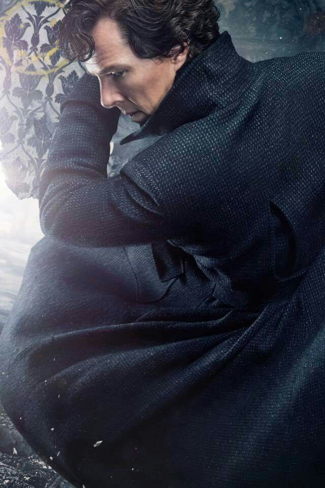 SHERLOCK S4 promo photo. Benedict Cumberbatch