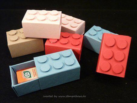Lego Steine, Stampin Up, Stempelhexe