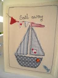 Image result for machine embroidered cards