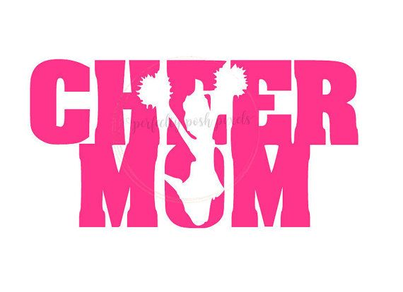 Cheer Mom Svg Cheerleader Sports Megaphone By