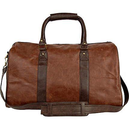 brown varsity holdall - holdalls - bags / wallets - men - River Island