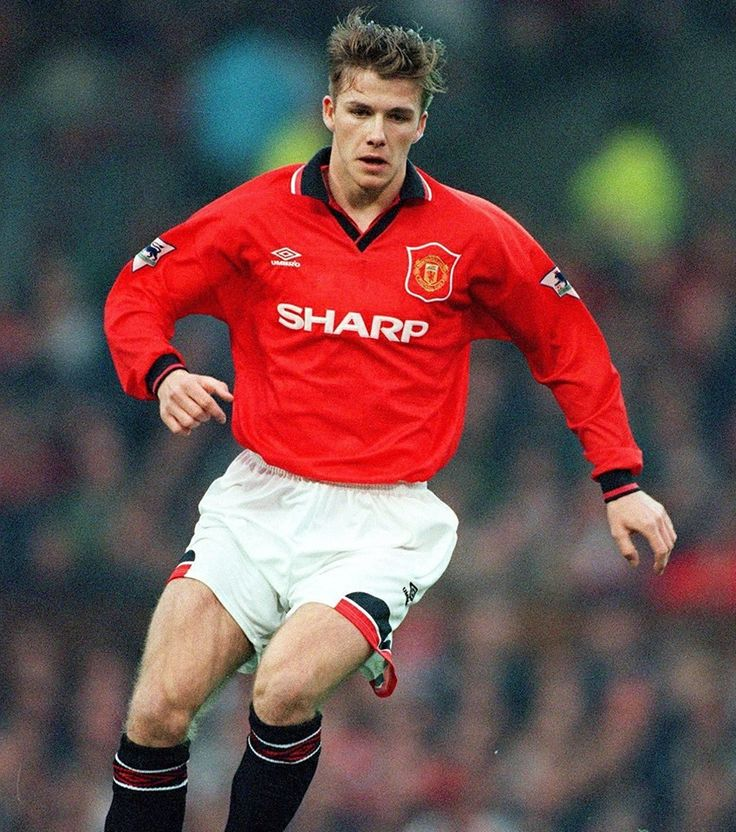young david beckham manchester united