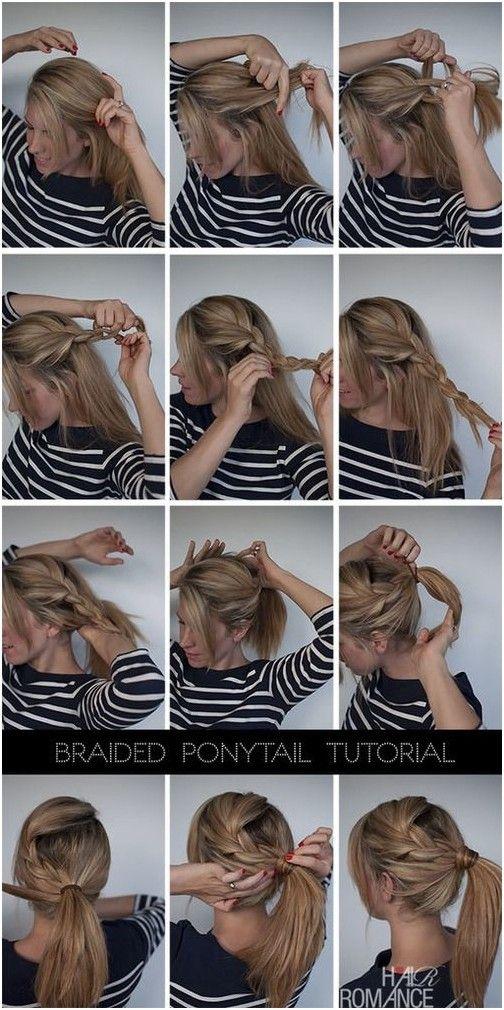 Groovy 1000 Ideas About Cute Easy Ponytails On Pinterest Girl Hair Short Hairstyles For Black Women Fulllsitofus