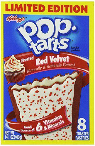 Pop-Tarts Red Velvet, 14.1 Ounce (Pack of 12) - http://sleepychef.com/pop-tarts-red-velvet-14-1-ounce-pack-of-12/