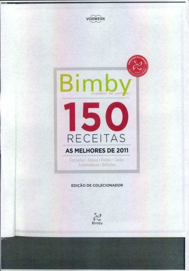 Bimby 150 receitas (as melhores de 2011)[vertical]