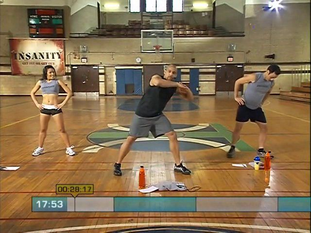 Insanity Fit Test!!! Pretty awesome!!! Full video :)