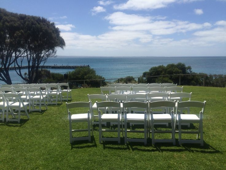 Stunning ocean views for your beach wedding at Melbourne's Mornington peninsula at the portsea hotel