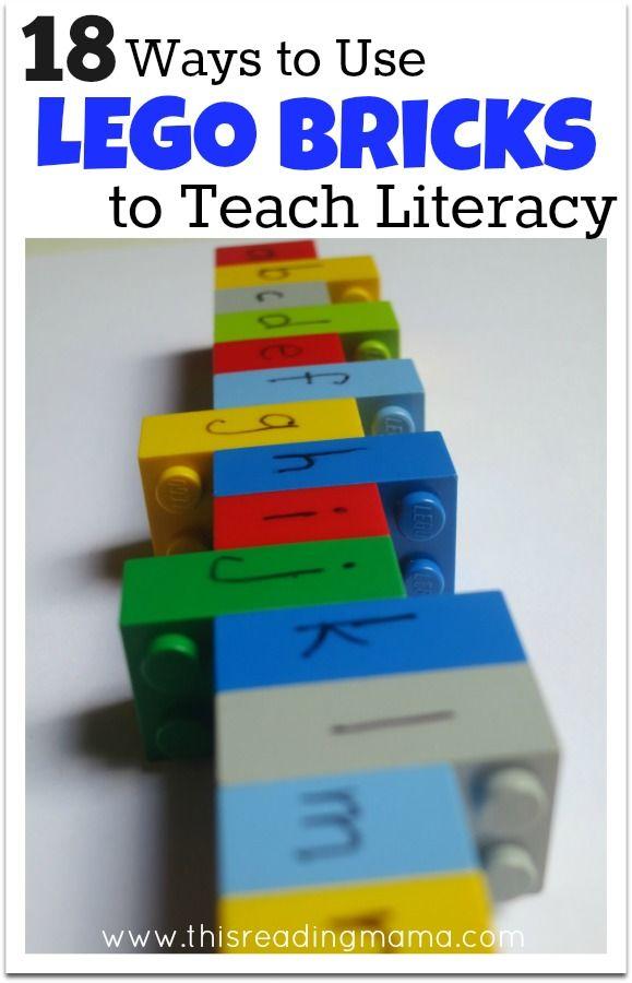18 Ways to Use LEGO Bricks to Teach Literacy - This Reading Mama