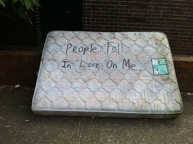 "People fell in love on me by yewenyi, via Flickr. ""This photo was taken on October 13, 2011 in Marrickville Metro, Sydney, NSW, AU, using an Apple iPhone 4."""