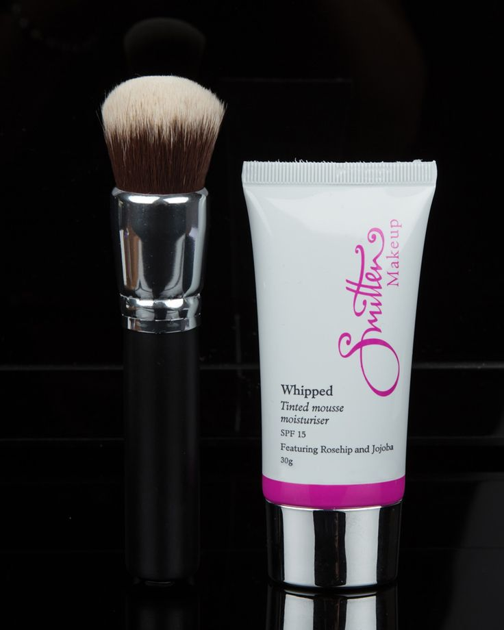 Amazing Mousse Foundation and Buffer Brush...awesome combination. Visit www.smittencosmetics.com.au for more details