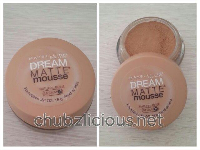 Maybelline dream matte mousse 2