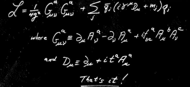 Quantum chromodynamics is conceptually simple. Its realization in nature, however, is usually very complex. But not always.