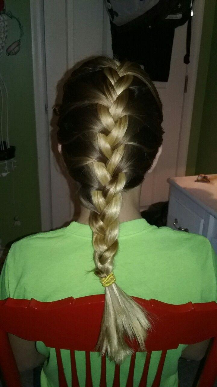 French braid on me!