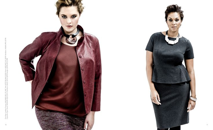 Lafayette 148 NY Plus Size Fall 2014 Look Book on The Curvy Fashionista #tcfstyle