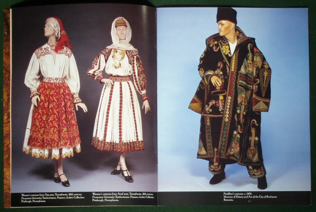 Romanian Costume Exhibition   Kent State University 1991   USA #Romania #RomanianBlouse