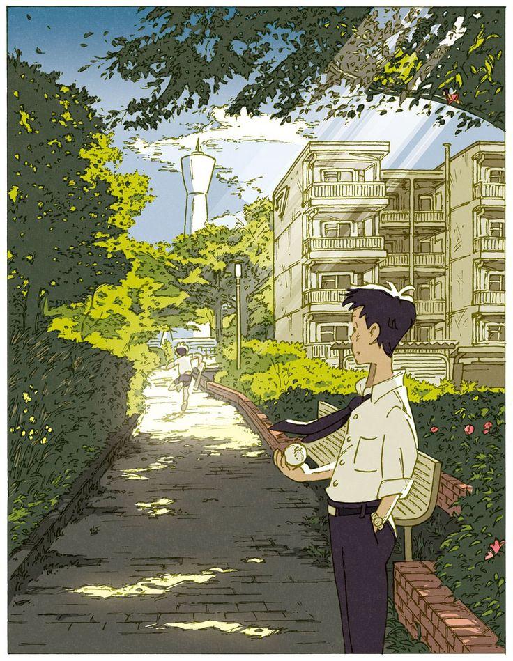Illustration of Book cover[Omoide wa mitasarenaimama] on Behance