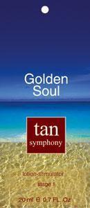 Бальзам-активатор загара Golden Soul 1-я фаза, 20 саше по 20 мл, Tan Symphony