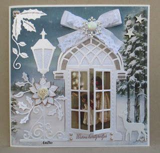 AnDo Creatief: Warme kerstgroetjes.....