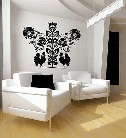 Folk Art - living space