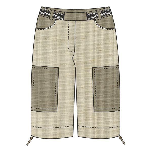 Как сшить женские брюки капри бриджи