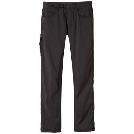 Seek out your first ascent on numerous un-climbed cracks lined around Zion National Park in the Prana Men's Zioneer Pant. Its Stretch Zion fabric is durable for offwidthing and bushwhacking, stretchy for mobility, and water-resistant to keep you comfy however the weather plays out. Prana designed this pant with a standard fit, tapered legs, and a full inseam gusset for high-stepping mobility.