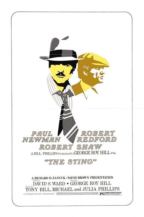 the sting, director george roy hill