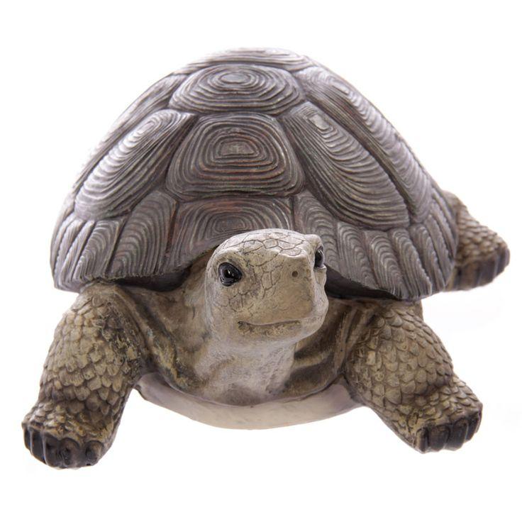 Turtle Garden Ornament | Turtle, Garden ornaments, Garden
