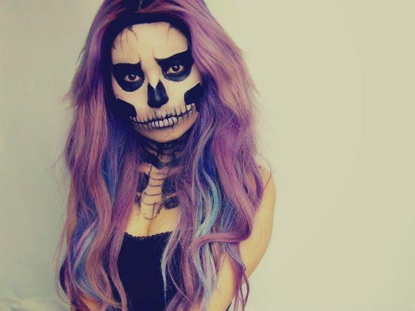 moda y estilo maquillajes de halloween para mujer