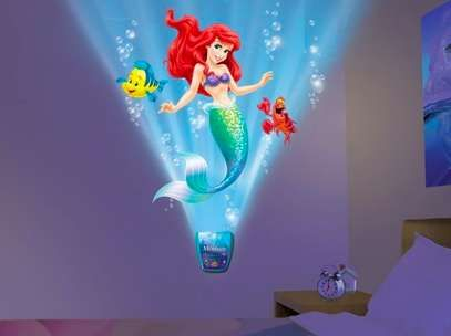 The Little Mermaid Wall Brightens up a Room with Favorite Characters trendhunter.com