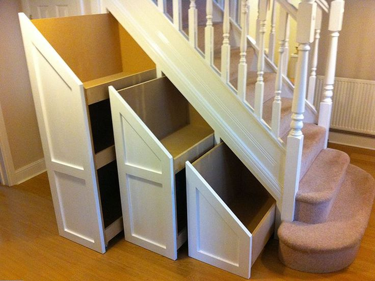 how to build under stairs storage drawers