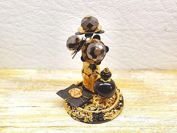 Miniatura casa delle bambole Bohemian Lover decoro di PiccoliSpazi
