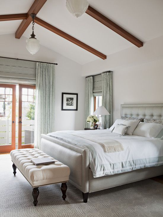 17 best ideas about vaulted ceiling bedroom on pinterest for Bedroom cathedral ceiling