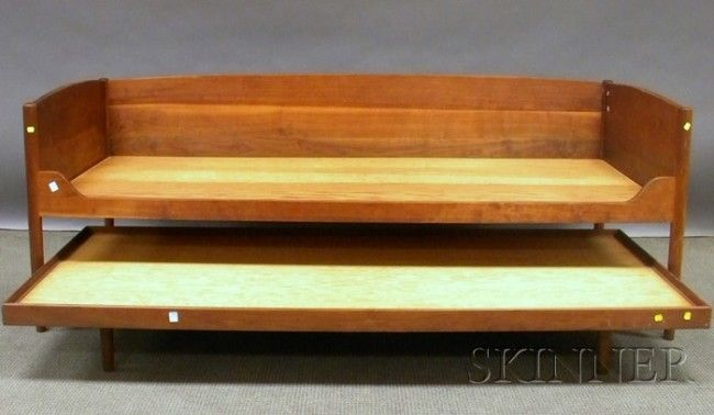 Best Teak Twin Bed 1655 Danish Mid Century Modern Teak Twin 400 x 300