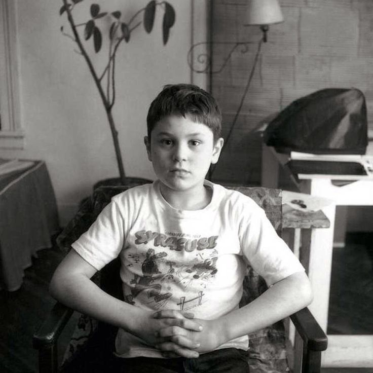 A 7 year old Robert De Niro, 1950