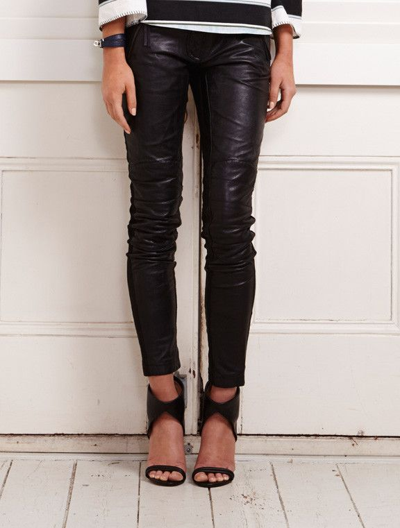 Binny - 10 Mile Road Leather Pants