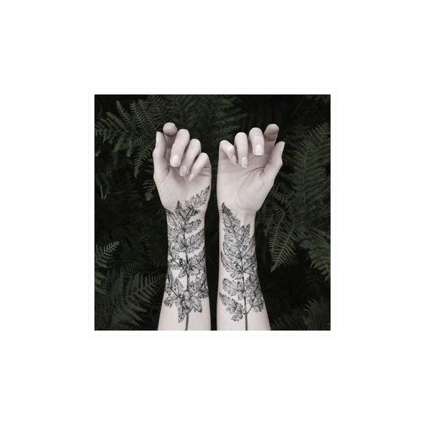 Nature Girl From The Forest Temporary Tattoos by The Aviary ($24) ❤ liked on Polyvore featuring accessories, body art, tattoos and backgrounds