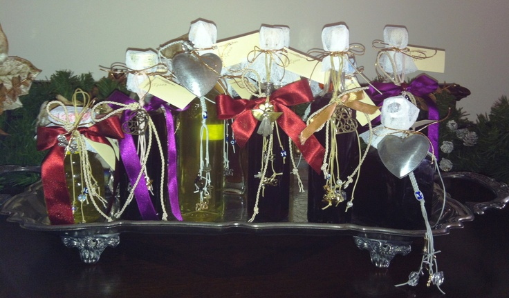 Homemade liqueur with charms by Chryssa