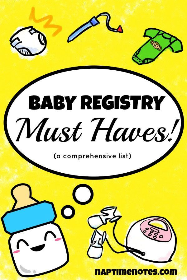 190 best baby shower registry images on Pinterest - baby registry checklists