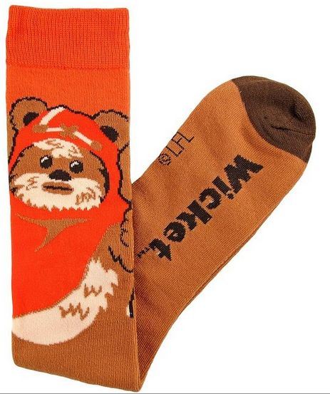 Star Wars Ewok (Wicket) socks!