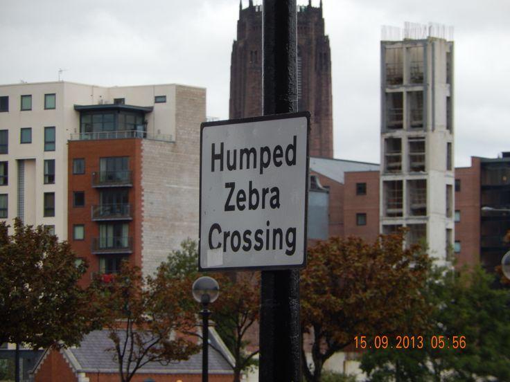 Liverpool, England Humped Zebra Crossing