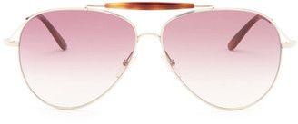 Valentino Women's Aviator Sunglasses #sunglasses #womens #summer