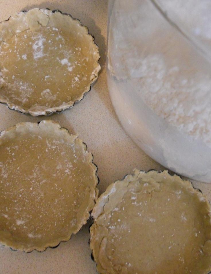 Gluten free tartlet dough