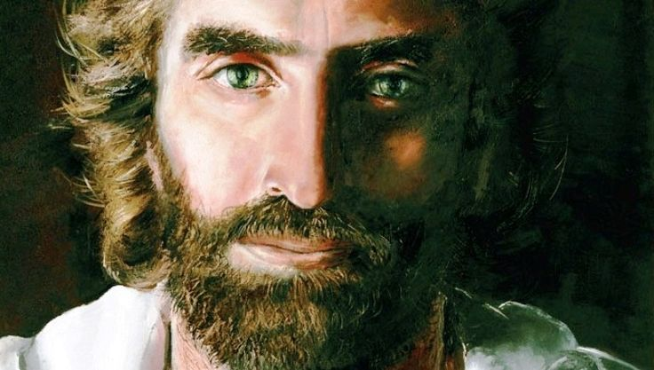 Year Old Girl S Painting Of Jesus Christ