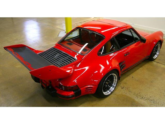 1985 Porsche 911 Turbo Look Factory M491 Wide body - Pelican Parts Technical BBS