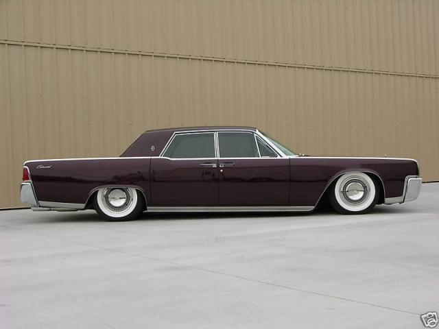 1964 lincoln continental custom with 723 hp hot rod lincoln art on wheels. Black Bedroom Furniture Sets. Home Design Ideas